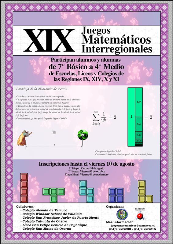 Xix Juegos Matematicos Inter Regionales 2018 Colegio San Mateo